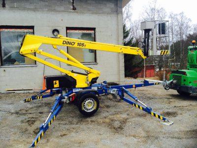 Speciální pracovní plošina DINO 105 T
