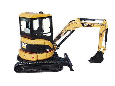 Minibagr 3700 kg - CAT 303 CR